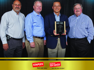 Staples Canada Vendor of the Year