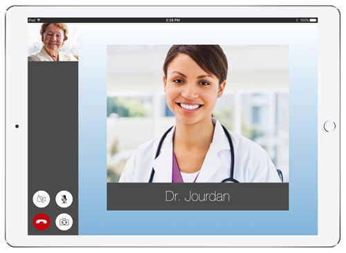 Live Expert Mobility Video Chat on iPad