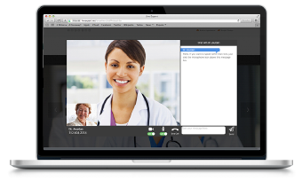Live Expert Healthcare Video Chat Laptop